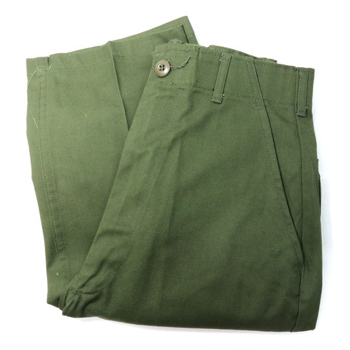 NOS1987's U.S.ARMY FATIGUE PANTS (WASHED)(デッドストックUSアーミーベーカーパンツ)