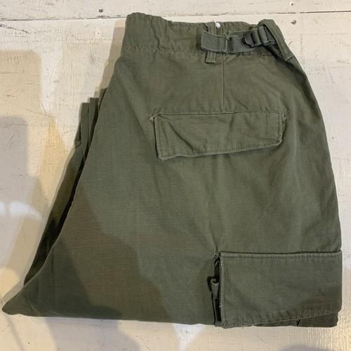 60's U.S.ARMY Cotton Poplin Jungle Fatigue Pant 4th