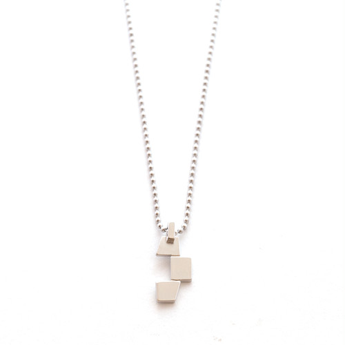 Geometric Pattern Necklace - Trapezoid
