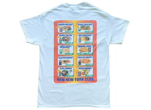 NEW NEW YORK CLUB / DELI & GROCERY MENU T-Shirt