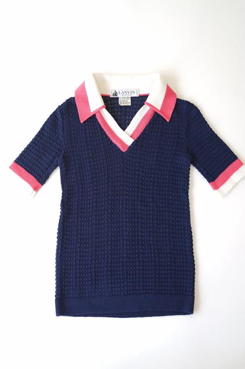 LANVIN VINTAGE - Polo Knit