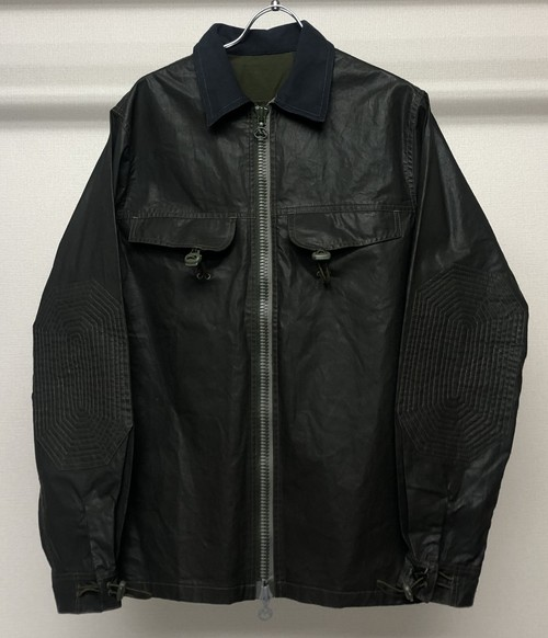AW1999 MAHARISHI RESIN COATED ZIPUP SHIRT JACKET