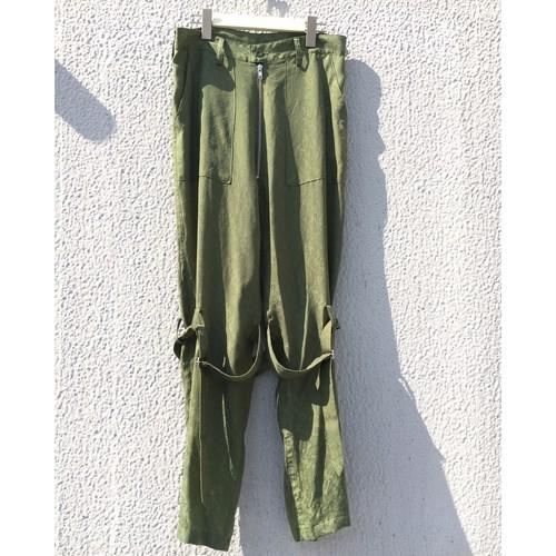 blackweirdos / Paisley bondage pants