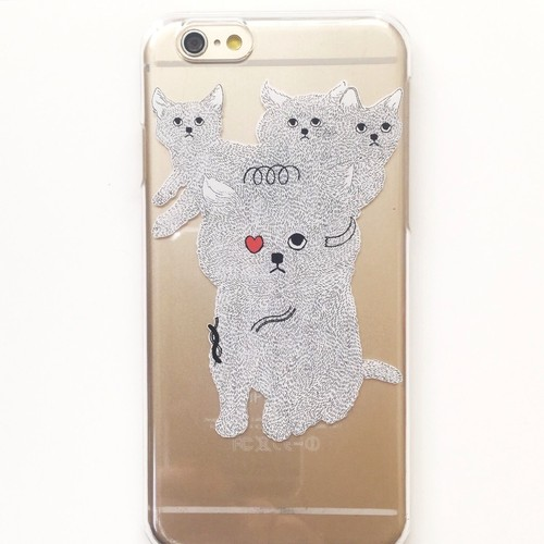 【iPhone6/6S専用】iPhone6ケース symbiosis cat