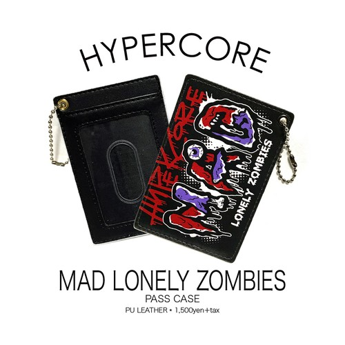 A-342 MAD LONELY ZOMBIESパスケース