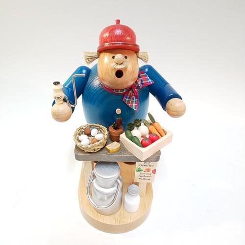 煙出し人形 『ファーマーズマーケット』