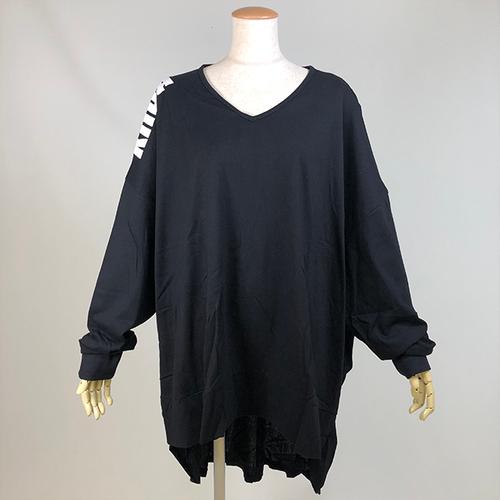 後ろシャツ型Tシャツ/KUD23-T528