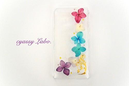 ターコイズの紫陽花 SH-02F AQUOS PHONE