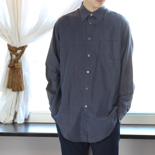 .Y's YOHJI YAMAMOTO LONG SLEEVE SHIRT MADE IN JAPAN/ワイズヨウジヤマモト長袖シャツ 2000000040783