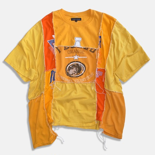 WCH Remake Handlock Patching Tee -Orange02