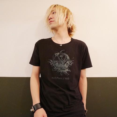 Tシャツ ~カオス~ (黒) -2016.2.6 サイン入り-