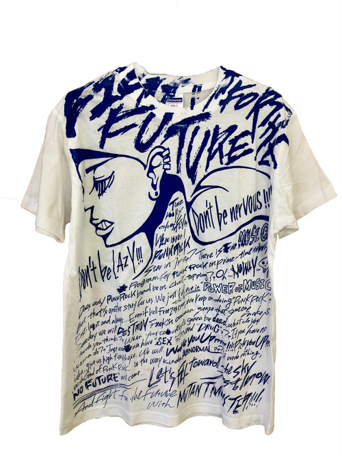Fight For the Future T-SHIRTS (BLUE ver)