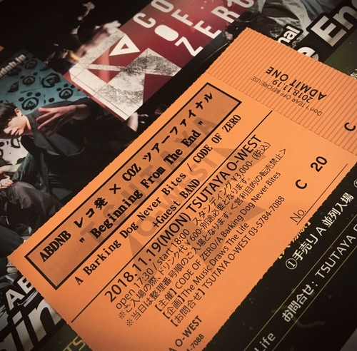 """【TICKET】Tour Final """"Beginning From The End"""" [C1-]"""