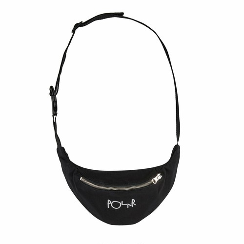 POLAR SKATE CO / SCRIPT LOGO HIP BAG -BLACK-