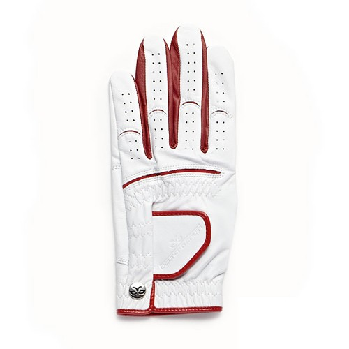 【Men's】 Athlete Glove S-22cm white-red