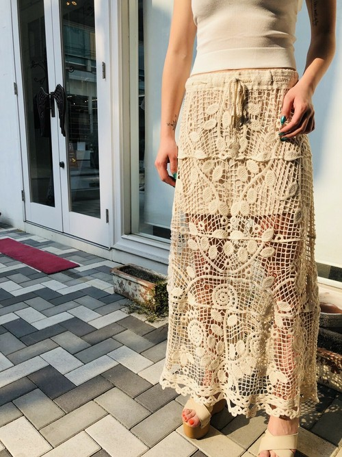 crocheted lace SK
