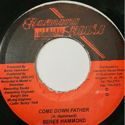 Beres Hammond(ベレスハモンド) - Come Down Father 【7-10784】
