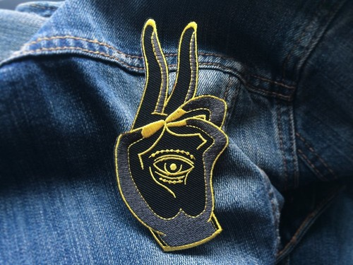 LIFE CLUB'Prana Mudra Hand' Patch