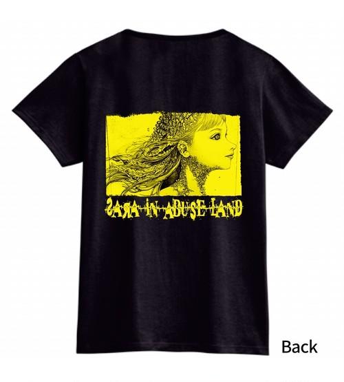 ⑨「虐待の国のサラ」Tシャツ《A黄色》(支援)