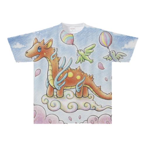 オリジナルTシャツ:ひろトン作「ラッキードラゴン