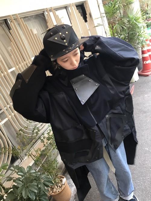 【はやとちり】ロボキャップ 黒