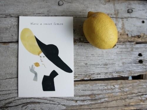 原裕菜 / ポストカード Have a sweet lemon