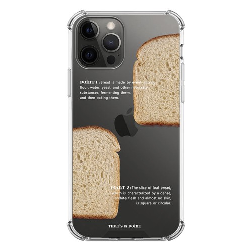 【that's a point】white bread / iphone スマホ ケース カバー  ジェリー ソフト ハード 韓国 雑貨