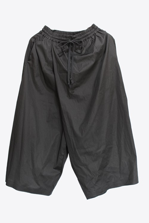 "【Project ByH】""GIN""cotton poplin loose fit twisted trousers (BLK)"