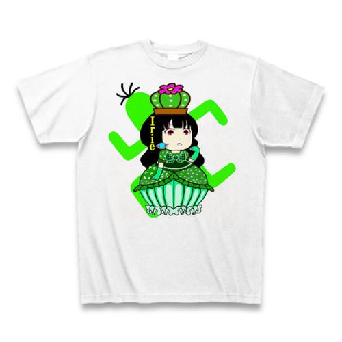 Irie開運サボテン邪気姫様サンキューTシャツ
