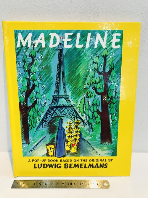 80's MADELINE  by BEMELMANS ポップアップしかけ絵本
