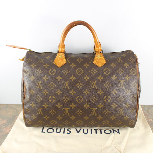 .LOUIS VUITTON SPEEDY35 M41524  VI873 MONOGRAM PATTERNED BOSTON BAG MADE IN FRANCE/ルイヴィトンスピーディ35モノグラム柄ボストンバッグ 2000000045276