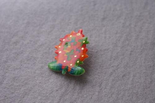 Lilac brooch
