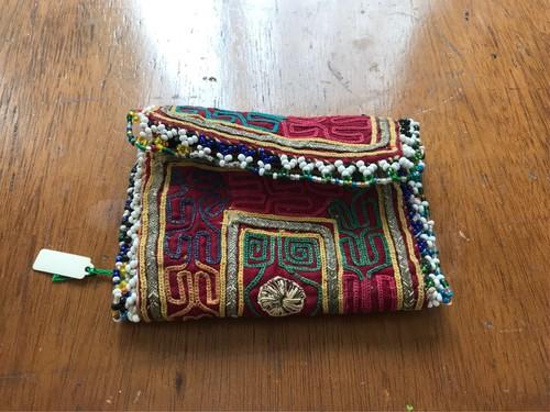アフガニスタン 刺繍古布 ポーチ3