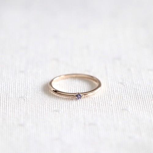 Petit Ring  K10  タンザナイト