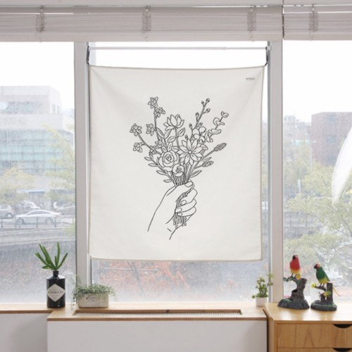 flower bouquet fabric poster L size 4types / ファブリックポスター