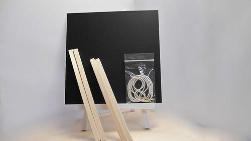 ボード 正方形・25cm 【 木枠セット 】