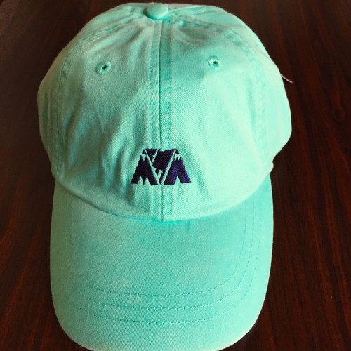"McMamWell x ADAM'S HAT 6panel Cap ""L.GREEN"""