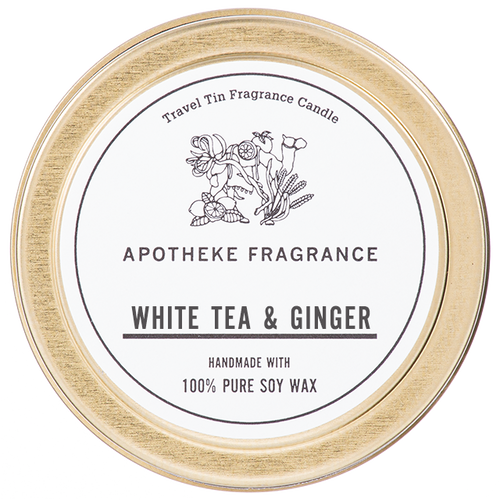 TRAVEL TIN CANDLE / White Tea & Ginger