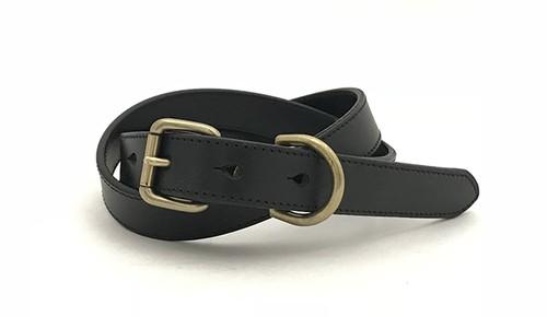 RE.ACT Buttero Narrow Belt  Black