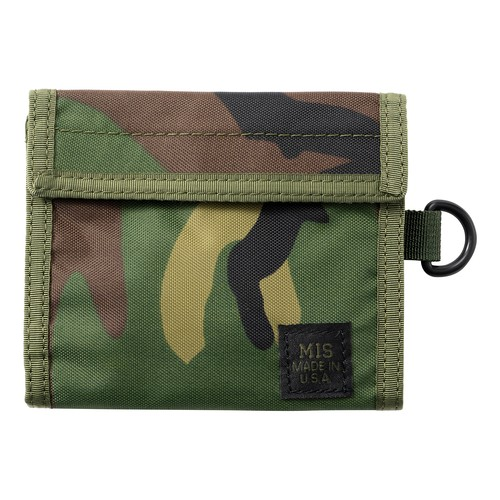 MIS-1034 FOLDING WALLET Packcloth_WOODLAND CAMO【オンライン限定】