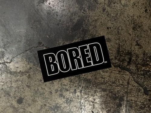 BORED AUTHENTIC SERIES / BORED LOGO STICKER