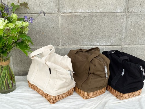 willow canvas lunch bag(S)