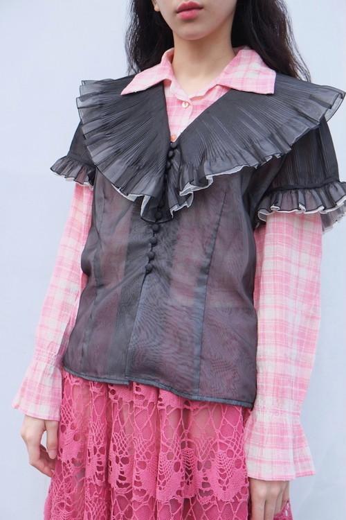 vintage/bunre t su blouse.