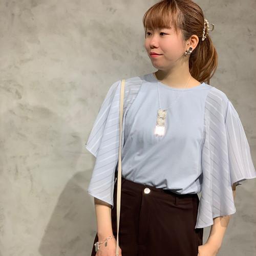 SONO/ラウンドスリーブTシャツ/s212tv016