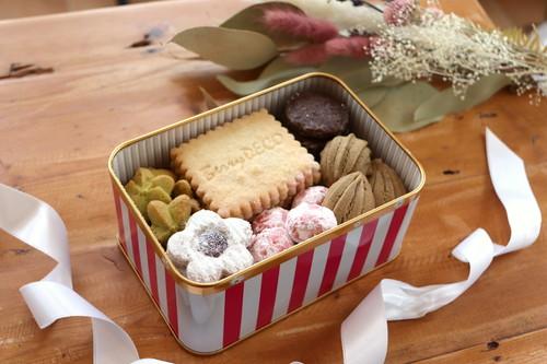 BerryDECO オリジナルクッキー缶