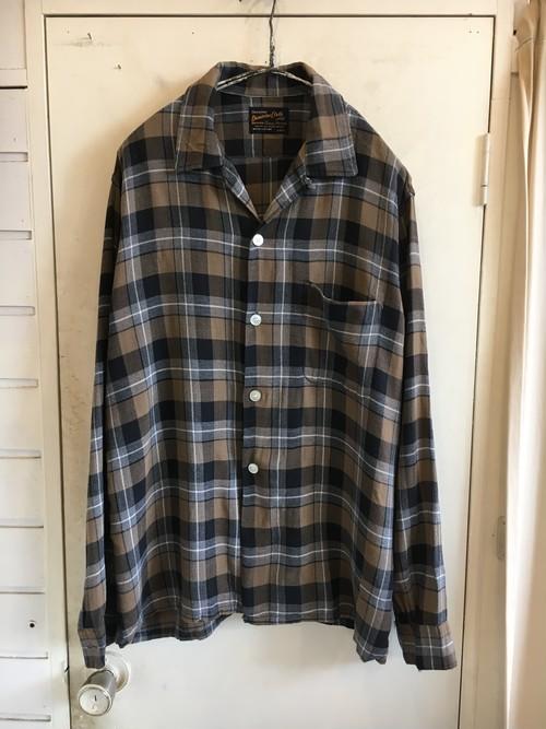 60s Rayon Flannel Shirts