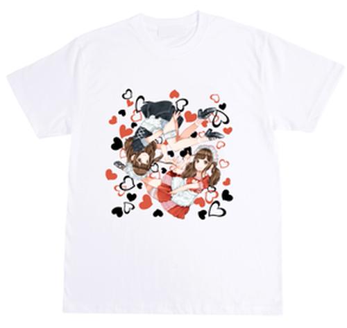 五木あきらイラストTシャツ