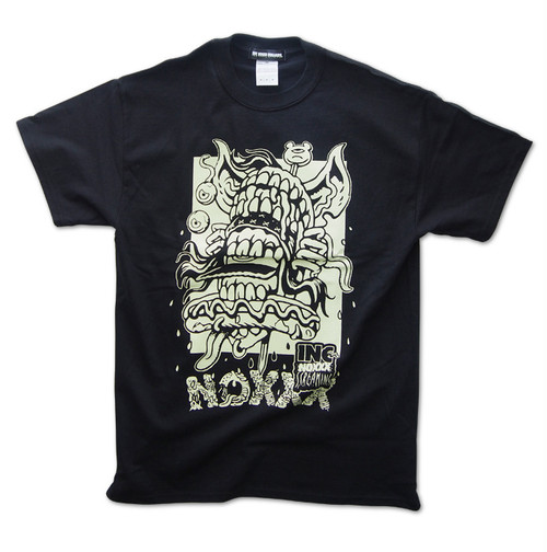 EATIN' T-shirt / BLACK