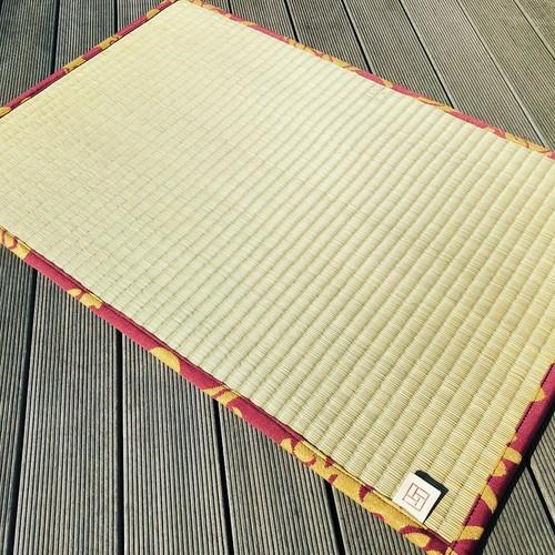ZAZEN  tatami reversible mat  畳と生地のリバーシブルマット