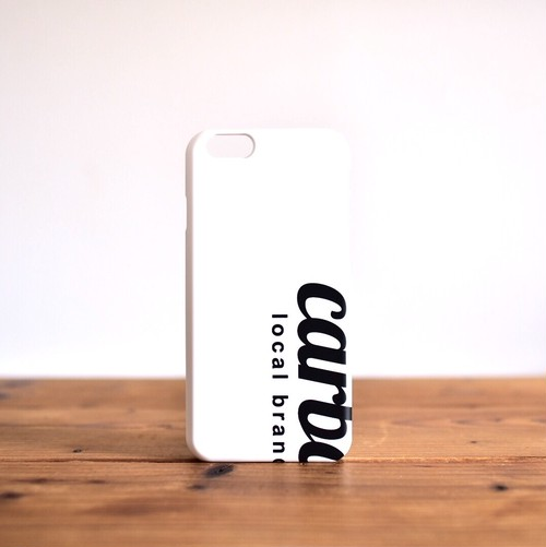 carbonic smartphone case BIG logo WH